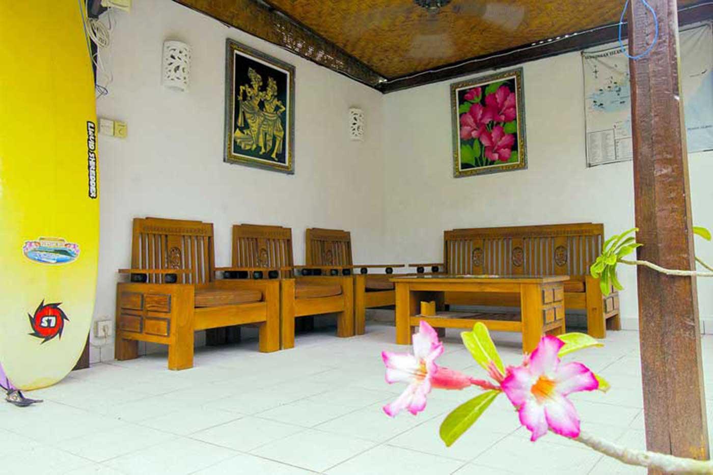 facilities of pantai bungalow