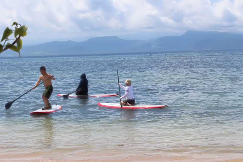 sup, stay up paddle, lembongan activities