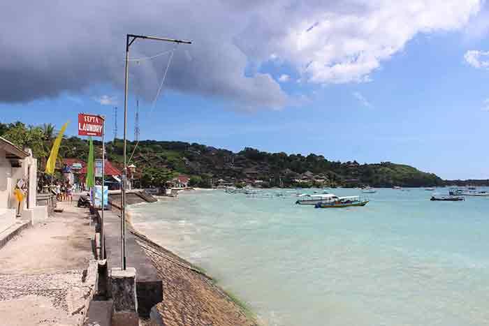 jungut batu bay lembongan island